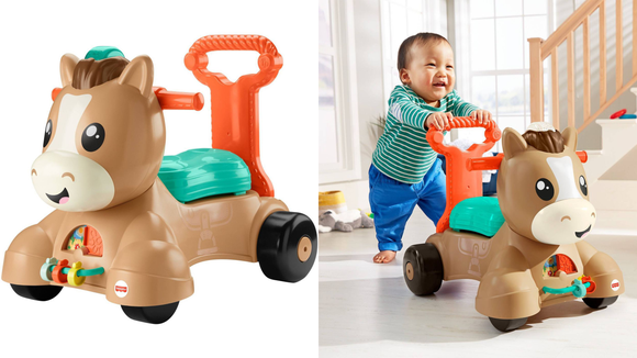 The 26 best gifts and toys for 1-year-olds: Fisher-Price Walk, Bounce, and Ride