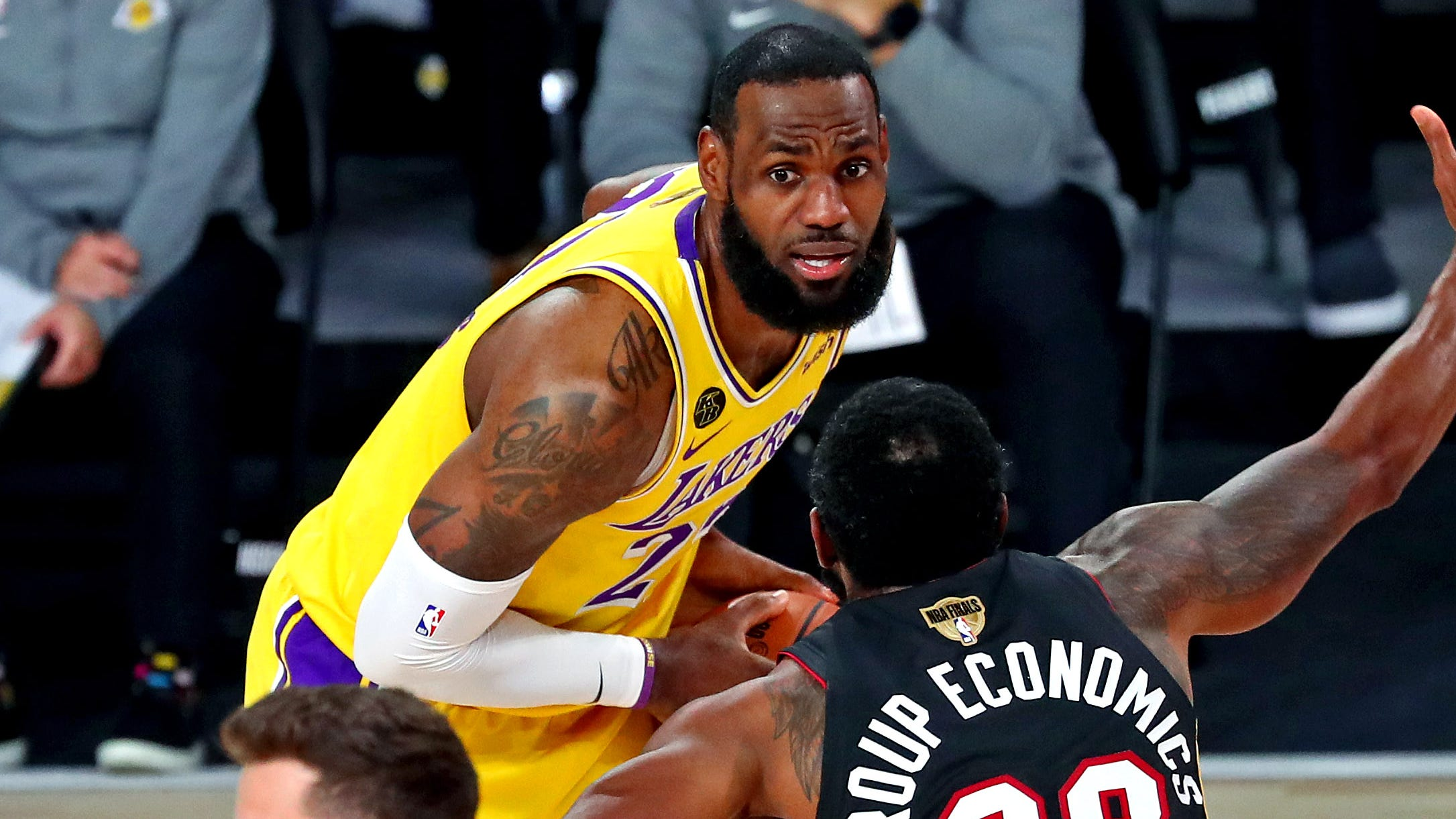 NBA Finals: LeBron James puts Lakers on brink of championship
