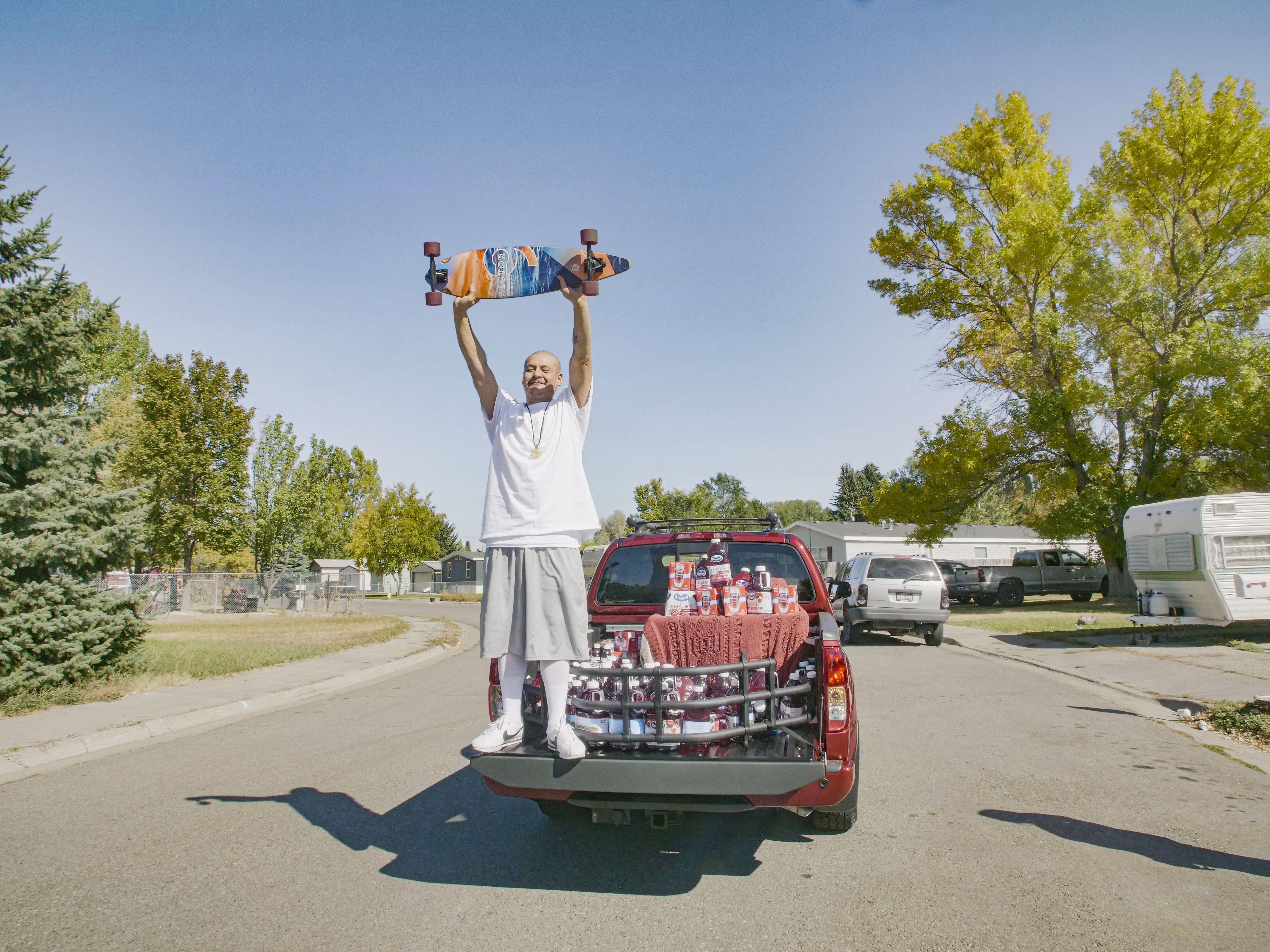 Ocean Spray gifts a truck to viral TikTok star singing Fleetwood Mac, drinking Cran-Raspberry