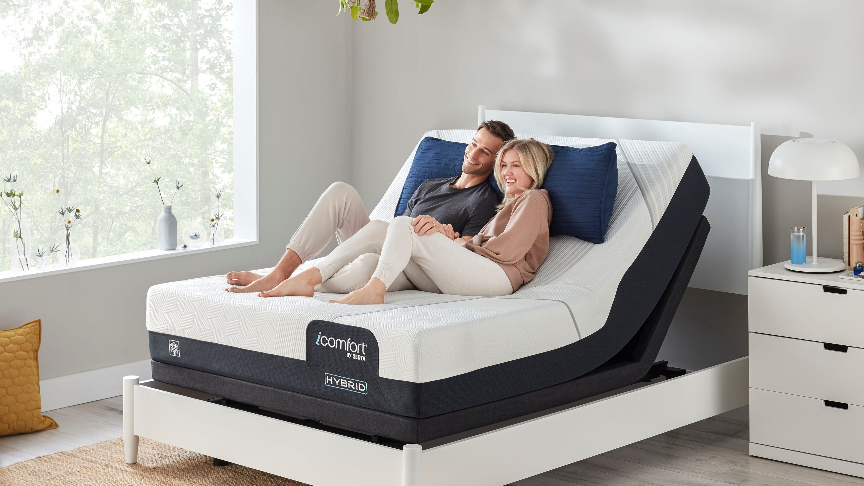 Working from home, in your bed? You're not alone. Mattress sales are soaring during the pandemic.