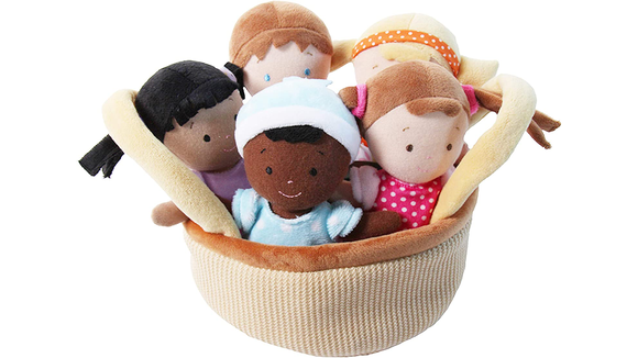 The 26 best gifts and toys for 1-year-olds: Snuggle Stuffs Basket of Babies