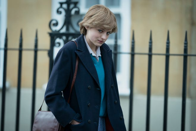 "Emma Corrin is nominated for a best actress SAG Award for her role as Princess Diana in ""The Crown."" The Netflix series is also nominated for best ensemble."