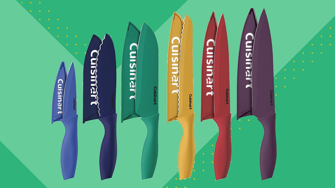 You can get a 12-Piece Cuisinart knife set for just $10 this Amazon Prime Day
