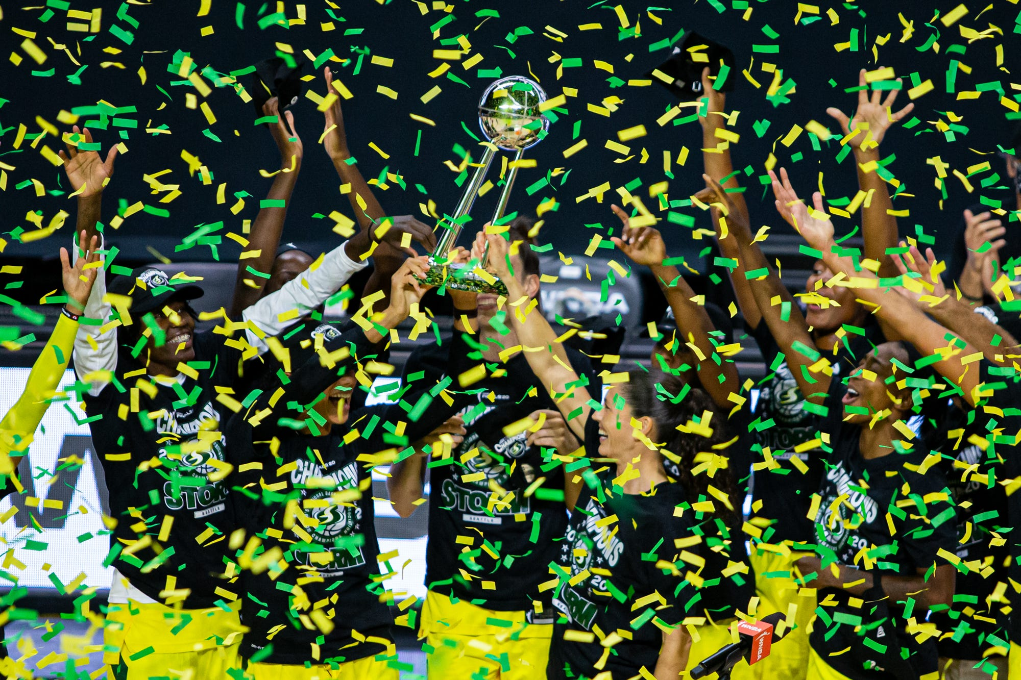 Opinion: Seattle Storm's record-tying fourth WNBA Finals win can be attributed to Sue Bird, Breanna Stewart, Jewell Loyd