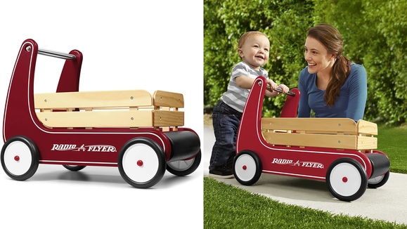 The 26 best gifts and toys for 1-year-olds: Radio Flyer Wagon Walker