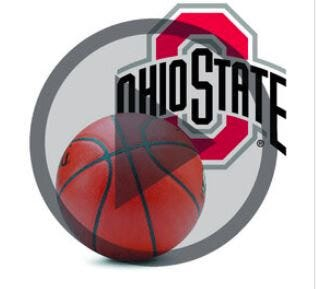 Ohio State Basketball podcast logo.