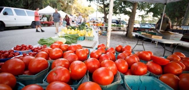 Fresh vegetables will again be available at the Amphitheatre Farmers Market.