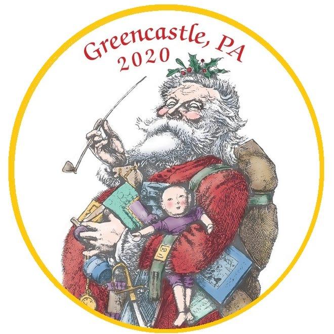This jolly Santa adorns the 2020 Heritage Christmas ornament.