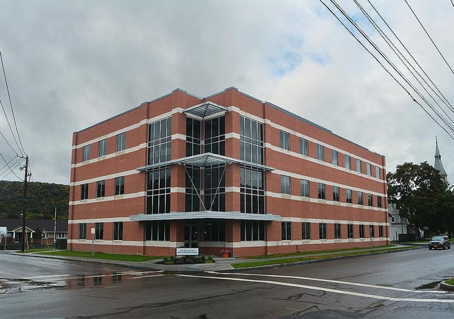 The lockdown of the Steuben County Office Building may have delayed planned renovations but work approved by the county Legislature in December 2019 was well under way in May.