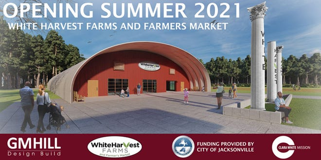 Here is a rendering of the farmers market and job-training center the Clara White Mission plans to develop at its White Harvest urban farm, which is in a low-income food desert in Northwest Jacksonville.