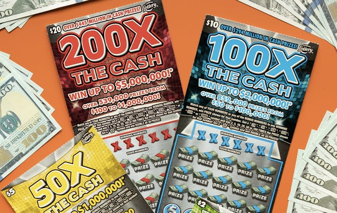 The Florida Lottery recently launch its new X the Cash scratch-off games.