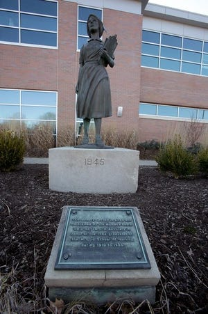The nursing statue that rests near the former emergency room at Affinity Medical Center will soon get a new home at the Massillon Museum. The statue was dedicated in 1986, the day the final class graduated from the Massillon Community Nursing School.