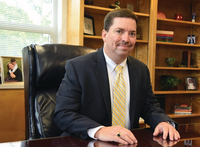 Superintendent Brent Williams of Lenoir County Public School has been selected as the Southeast Region Superintendent of the Year and one of eight nominees for State Superintendent of the Year. [CONTRIBUTED PHOTO]