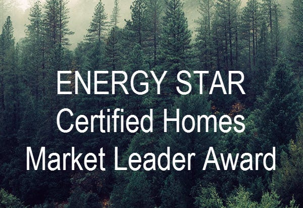 The U.S. Environmental Protection Agency is honoring 348 organizations with Energy Star Residential New Construction Market Leader Awards for their important contributions to energy-efficient construction and environmental protection, including two organizations in Delaware.