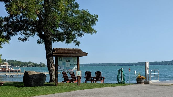 The beach area at Onanda Park soon will be owned by the town of Canandaigua.