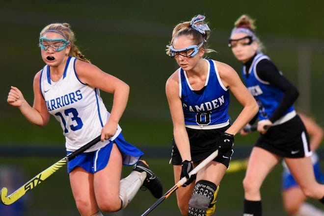 Mackenzie Mix, shown last season, helped Camden to a win Wednesday.