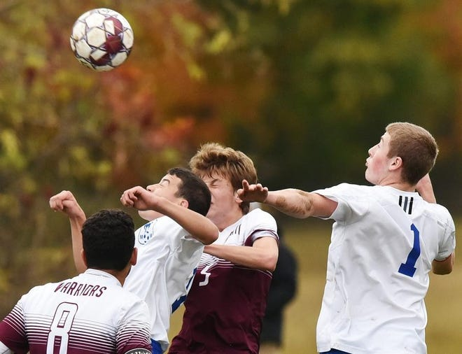 There are a few boys soccer matches on the high school schedule Friday.