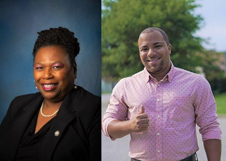 Here are the local candidates running for office in Petersburg's Ward 6; Incumbent Annette Smith-Lee and Challenger Patrick Ingram.