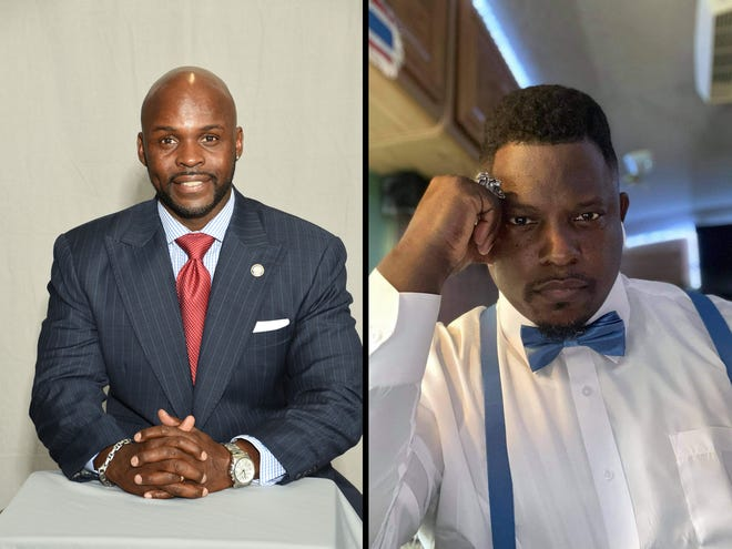 Incumbent Ward 2 City Councilor in Petersburg, Darrin L. Hill, faces off against Petersburg resident Marlow A. Jones Sr.