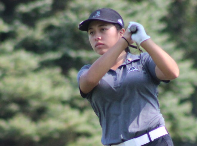 Brooklyn Millard of Aurora earned medalist honors by firing a 1-over-par 73 at the sectional tournament held Wednesday at Fox Den in Stow.