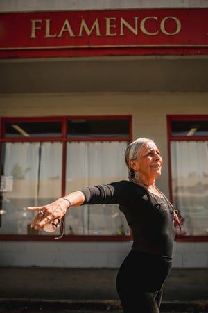 Martita Santiago, owner of Eugene Flamenco Arts.