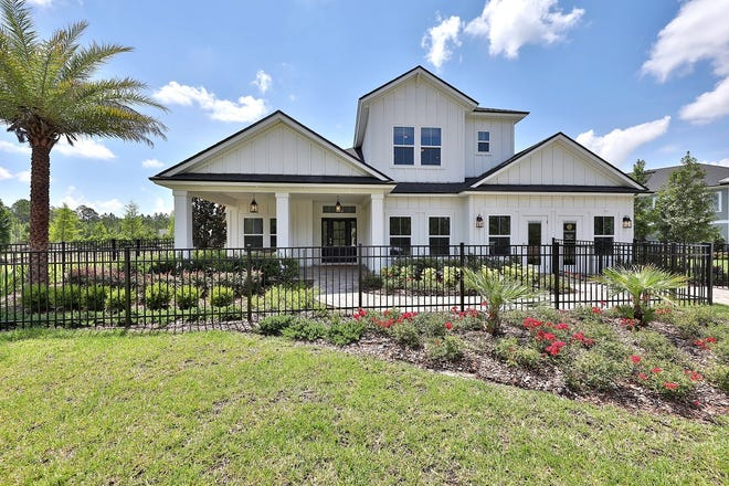 The Boca II model by Dream Finders Homes at Beacon Lake