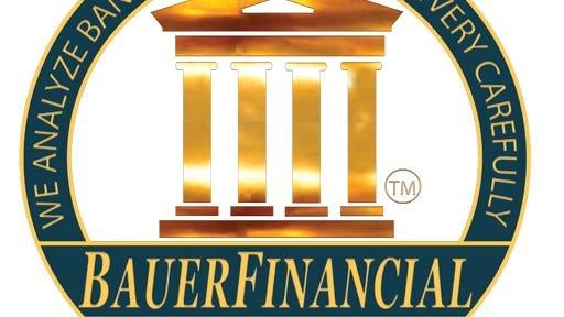 BauerFinancial upgraded one Southwest Florida bank