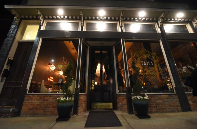 Tails Piano Bar and Lounge in downtown Wilmington recently announced they will be closing. [MATT BORN/STARNEWS]