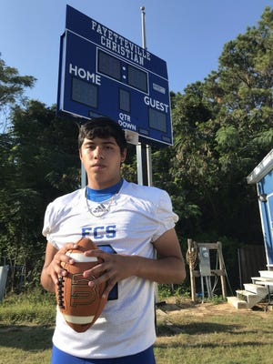 After appearing in just two games as a freshman, Fayetteville Christian quarterback David Herden has the Warriors off to their first 2-0 start in 14 years.
