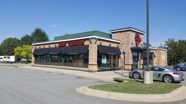 Ruby Tuesday in Mebane, NC