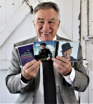 A proud Son of Italy, Mike Salardino with recordings from his favorite Italian artists.