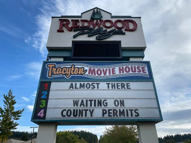 The Tracyton Movie House has transformed the old Olympic Cinemas building on Riddell Road in Bremerton. The owners had originally planned to open in August. Gov. Jay Inslee is giving movie theaters the go-ahead to reopen on Friday after shutting them down at the beginning of the pandemic in March.