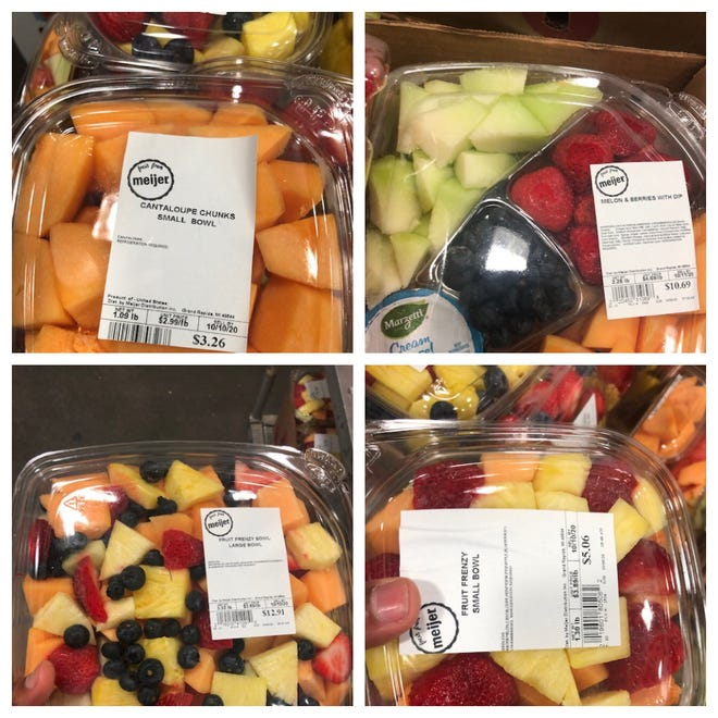 Meijer, in conjunction with Eagle Produce, LLC in Aguila, AZ., is announcing a voluntary recall of whole cantaloupe and select cut cantaloupe fruit trays and bowls. The multi-state recall involves whole cantaloupe and select cut cantaloupe fruit trays and bowls in various weights sold between Sept. 26 and Oct. 5 of this year.