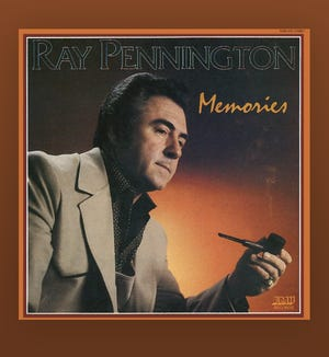 "The cover of Ray Pennington's 1984 album ""Memories."""