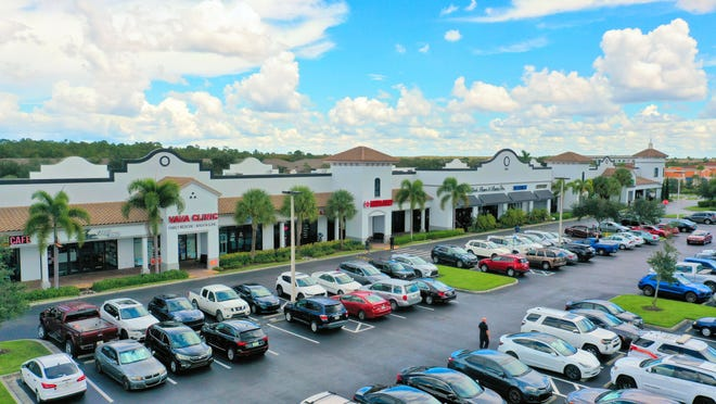 Cameron Commons is a new retail and office site in Naples, FL.