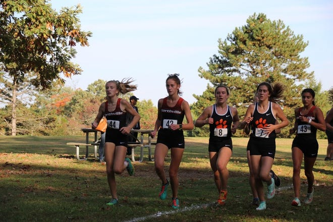 Northville earned the win against Brighton, who was previously undefeated in KLAA conference meets.