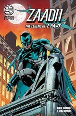 Zaadii: The Legend of Z-Hawk comic cover, released Oct. 8, 2020.