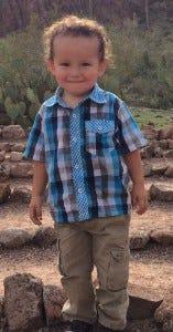 Zaadii, age 3.