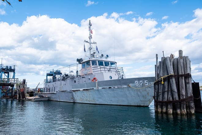 The USNSCS Grayfox, which has been docked in Port Huron since 1997, is looking for a new home.