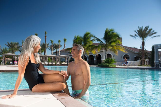 Communities that cater to active adults are thriving in South Florida, like PGA Village Verano and the 55+ neighborhood Cresswind at PGA Village Verano.