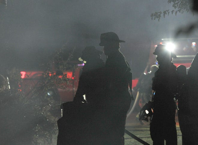 Wichita Falls firefighters worked the scene of a fatal fire at a home in the 1600 block of Kell Freeway.