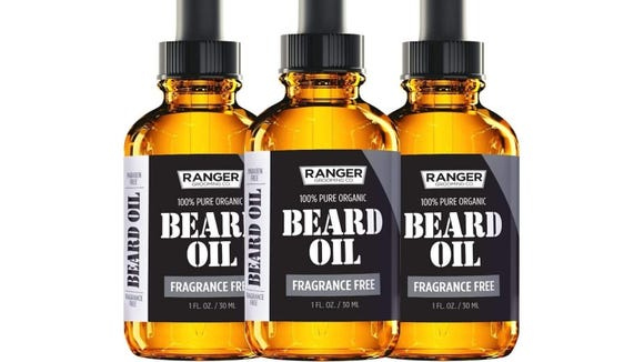 This fragrance-free beard oil is made from just two ingredients.