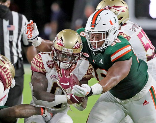 Florida State and Jashaun Corbin lost to Miami 52-10 last month in a game that used to be one of the premier matchups of the season.