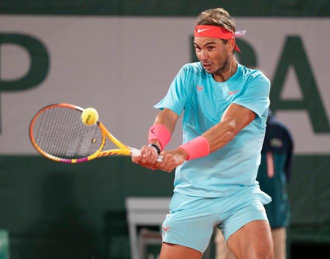 Rafael Nadal está a dos partidos de empatar el récord de Roger Federer de 20 Grand Slams.