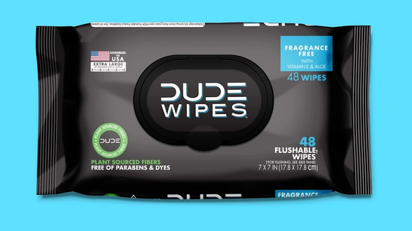 Be kind to your behind with these oversized bathroom wipes.
