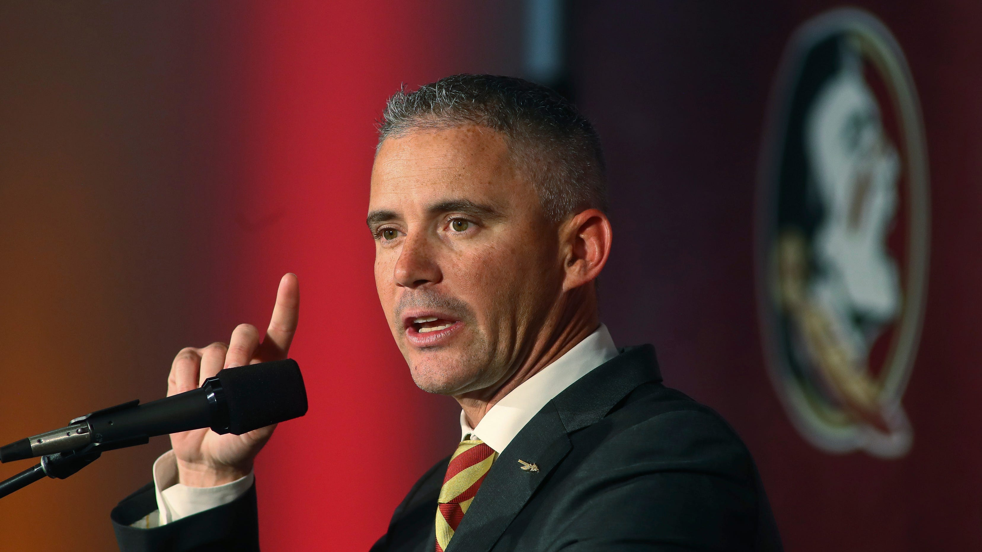 Mike Norvell, in his first season, is Florida State's third coach in four years.