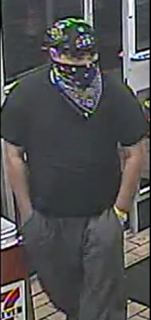 Bensalem police said this man robbed a 7-Eleven early Wednesay morning.