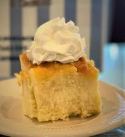 The banana pudding is a popular dessert all year-round at Red Lion Diner in Southampton.