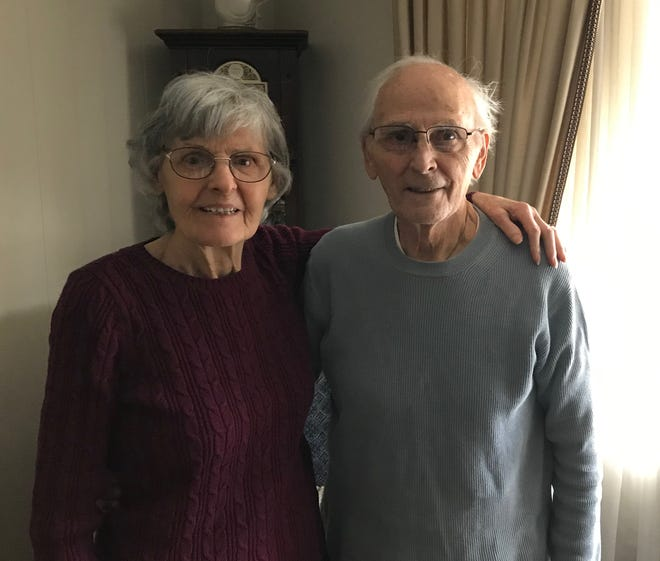 Ezia and Gino Romano celebrated their 70th wedding anniversary recently. The couple has lived in the same Baden home since 1955.