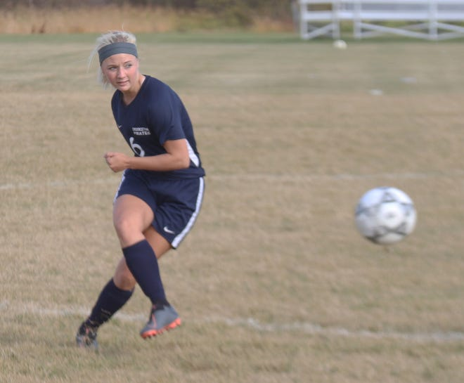 Kenze Epema scored two goals in Crookston's Section 8A play-in win over Walker-Hackensack-Akeley on Thursday.